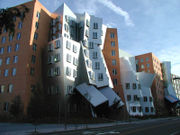 Stata Center - stolen from Wikipedia. Didn